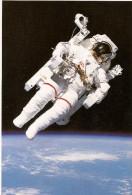 NASA STS 41-B. MANNED MANEUVERING UNIT. EXCLUSIVA POSTAL DE LA NASA! ORIGINAL- AUTHENTIQUE. GECKO. - Sterrenkunde
