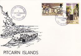 Pitcairn Islands 1981 Definitives FDC - Pitcairn