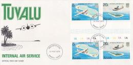 Tuvalu 1979 Internal Air Service FDC - Tuvalu