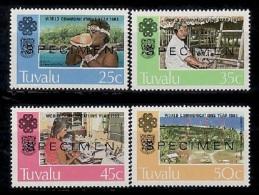 Specimen, Tuvalu Sc212-5 Communications, Radio... - Telekom