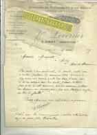 78 - Yvelines - LIMAY - Facture LEVERRIER - Fabrique De Voitures – 1905 - France
