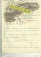 78 - Yvelines - VERSAILLES - Facture ANCILLOTTI - Fabrique De Tickets Numérotés, Perforés, Datés – 1914 - France