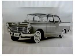 Photo Originale Presse SIMCA 1959 VEDETTE BEAULIEU EXPORT USA 1959 Tirage Argentique D'époque Photo - Cars