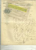 79 - Deux-sèvres - NIORT - Facture LEMERCIER & ALLIOT - Imprimerie – 1893 - 1900 – 1949