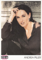 Andrea Piller Radio Gong Card 2scans 26 - Künstler