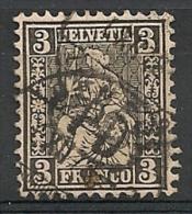 Suisse Helvétie Helvetia. 1862. N° 34. Oblit. - Used Stamps