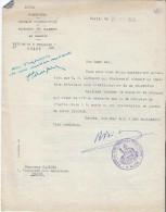Ferguson/ Plan Marschall/Lettre D'intervention Ministres/Obtention D'un Tracteur/ BETOLAUD/PFIMLIN/1949     AC74 - Tracteurs
