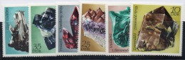 Serie  Nº 1427/32   Minerales Alemania DDR - Minerals