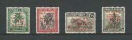 Ruanda-Urundi: 150/ 153 **   Croix-Rouge