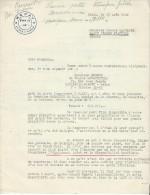 Ferguson/ Plan Marschall/Lettre Demise En Contact/Obtention D´un Tracteur/ REDAY/1948     AC75 - Tracteurs