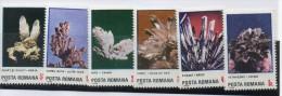 Serie Nº  3627/32  Minerales  Rumania - Minerals