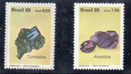 Serie  Nº 1927/28  Minerales  Brasil - Minerals