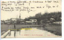 CPA  FRANCE  BERNAY  Sur La Charentonne  , 1909 - Bernay
