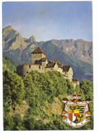 VADUZ  POSTKART C.018 - Liechtenstein