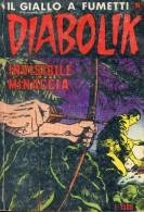 DIABOLIK N°272 INVISIBILE MINACCIA - Diabolik