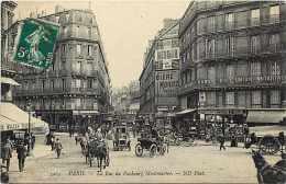 Paris-  Réf A316- La Rue Du Faubourg Montmartre - Banque De L'union Notariale - Banques - Carte Bon état - - Non Classificati