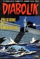 DIABOLIK N°3 PRIGIONE DI CRISTALLO - Diabolik