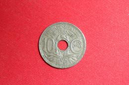 """10 Centimes """"Lindauer"""" 1937 Coins Bouchés,Absence Du""""A"""" De """"Fraternité"""" TTB+ - France"""