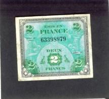 Billet.2 Fr 1944. - 1944 Flag/France