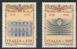 ITALIA 1978  -  TEATRO  ALLA  SCALA  DI  MILANO     NUOVI  /  MNH - Theatre