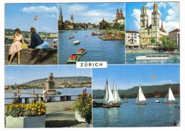 Zurich  POSTKART C.241 - ZH Zurich
