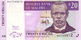 MALAWI  20  Kwacha  Daté Du 31 Octobre 2007   Pick 52 D     ***** BILLET  NEUF ***** - Malawi