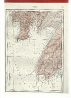 MAPS MONTENEGRO YUGOSLAVIA--CROATIA-NAUTI CAL CHART--SLOVENIA PIRAN-ILLUSTR ATION OF A SHEET OF PAPER FROM OLD BOOKS - Nautical Charts