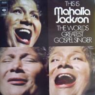 * 2LP *  THIS IS MAHALIA JACKSON THE WORLDS GREATEST GOSPEL SINGER (Germany 1966) - Religion & Gospel