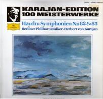 * LP *  HAYDN: SYMPHONIEN Nr. 82 & 85 - KARAJAN / BERLINER PHILHARMONIKER (Digital Rec. EX!!!) - Klassiekers