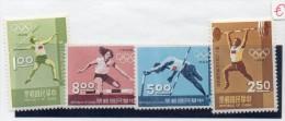 Serie Nº 624/7   Deportes  Formosa - Sommer 1968: Mexico
