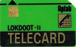 INDIA  ? U (NOT STATED)  LOKDOOT-II  AD BACK GREEN  APLAB CHIP  READ DESCRIPTION !! - India