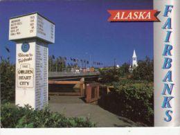 CPA FAIRBANKS- BRIDGE, DISTANCE MARKER - Fairbanks