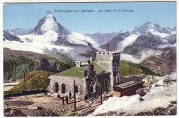 Postcard - Gornergrat Sur Zermatt      (13715) - Autres