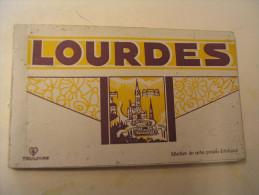 CARNET DE 10 CARTES DE LOURDES.... - Lourdes