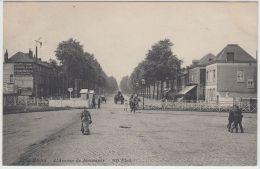 21110g PASSAGE à NIVEAU  - AVENUE De JEMMAPES - Mons - 1912 - Mons