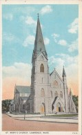 BT16994 St Mary S Church Lawrence Mass  USA Scan Front/back Image - Lawrence