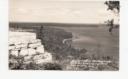 BT17009 Peninsula State Park Door Country Wiesconsin  USA Scan Front/back Image - Etats-Unis