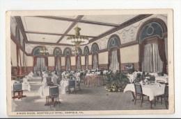 BT17222 Dining Room Nibricello Hiotel Norfolk VA  USA Scan Front/back Image - Norfolk