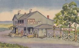 BT17231 Logans Barn Antiques  Salem  USA Scan Front/back Image - Salem