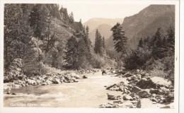 BT17306 Gallatin River Mont Scan Front/back Image - Etats-Unis