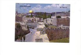 BT19456 Jerusalem Temple Area  Israel  Scan Front/back Image - Israel