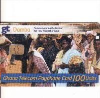 GHANA - Damba Chip 100 Units Card - Ghana