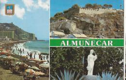 Almunecar - Plage Puerta Des Mar, El Santo, Place San Cristobal - Espagne