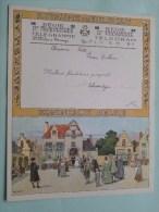 Brassin - Piette Feneur Dalhem Verzonden 14/6/33 Te Warsage Dalhem / Belgique - Belgium !! - Non Classés