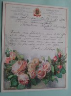 Cammelbeke Monitrice Hopital Stuyvenberg Anvers Verzonden 17/11/1937 Te Antwerpen / Belgique - Belgium !! - Faire-part