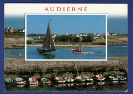 29 AUDIERNE Le Port ; Chalutiers, Canots 2 Vues - Audierne