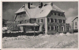 HINTERZARTEN 1184  CAFE IMBERG  1946 - Hinterzarten