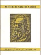 Famalicão - S. Miguel De Seide - Boletim Da Casa De Camilo Castelo Branco Nº 8 (5 Scans) - Boeken, Tijdschriften, Stripverhalen