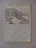 Cartolina Villa Deslex - St. Jean - Gressoney - Aosta. Scritta Dal Proprietario E Firmata. 1966 - Sin Clasificación