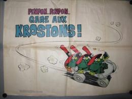 SPIROU 1970 - Afiches